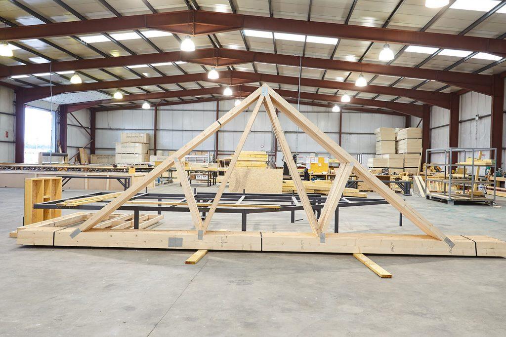 Roof Trusses - Castle Timber Design